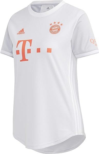 adidas FCB A JSY W - Camiseta Mujer: Amazon.es: Deportes y aire libre
