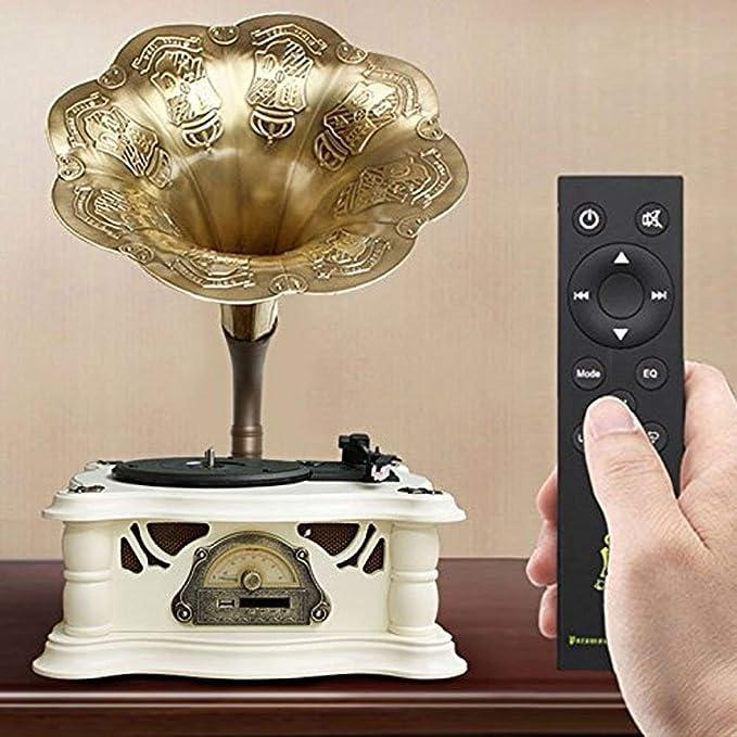 Amazon.com: Lcxligang Reproductor de música de vinilo ...