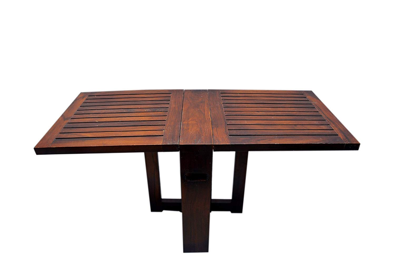 India Craft Furniture Solid Wood Foldable Coffee Table