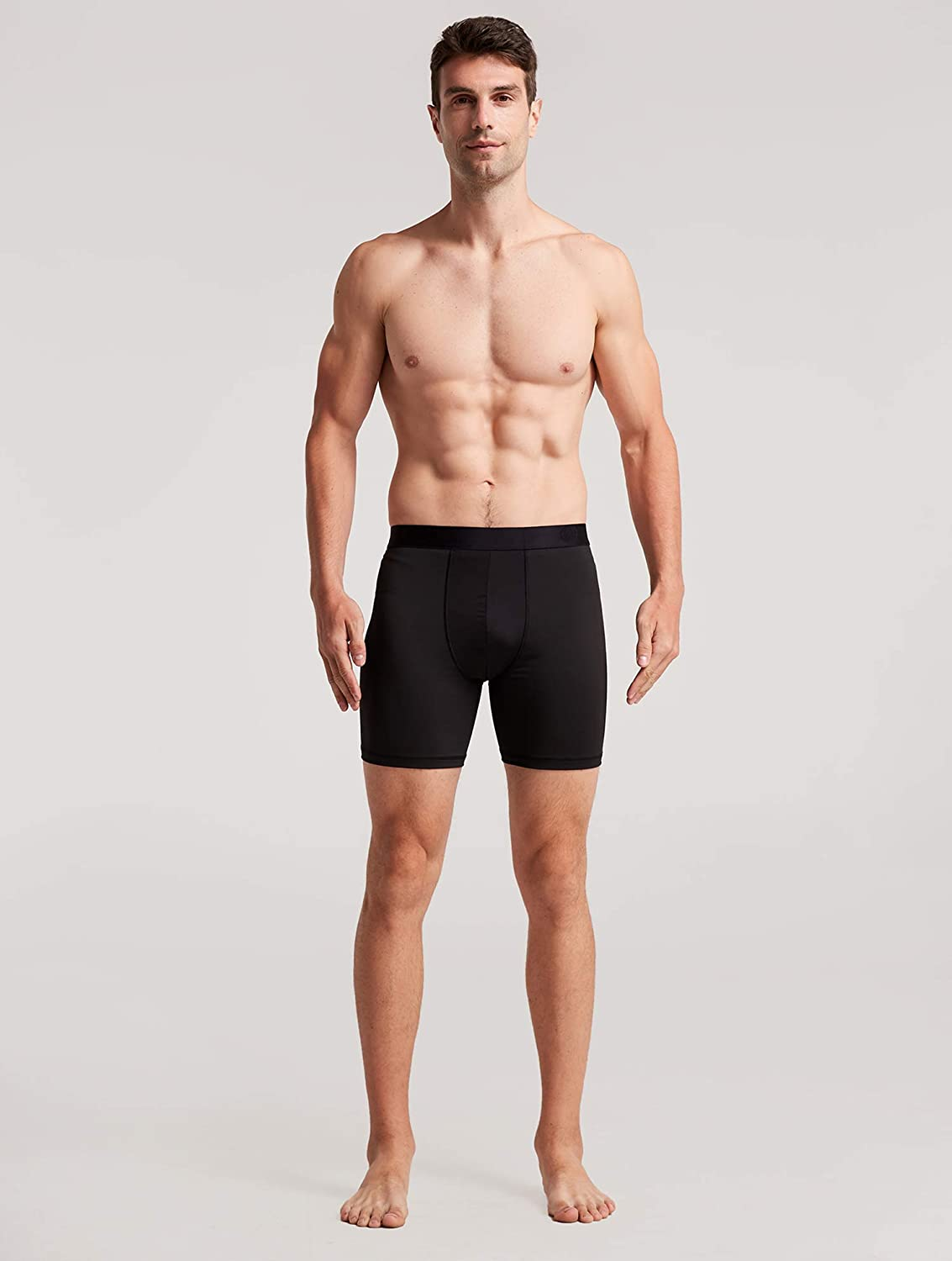 WANDER Mens Sport Underwear 3-Pack for Men Performance 6-inch Athletic Boxer Brief Tights Active Workout Underwear M/L/XL/XXL at  Men's Clothing store