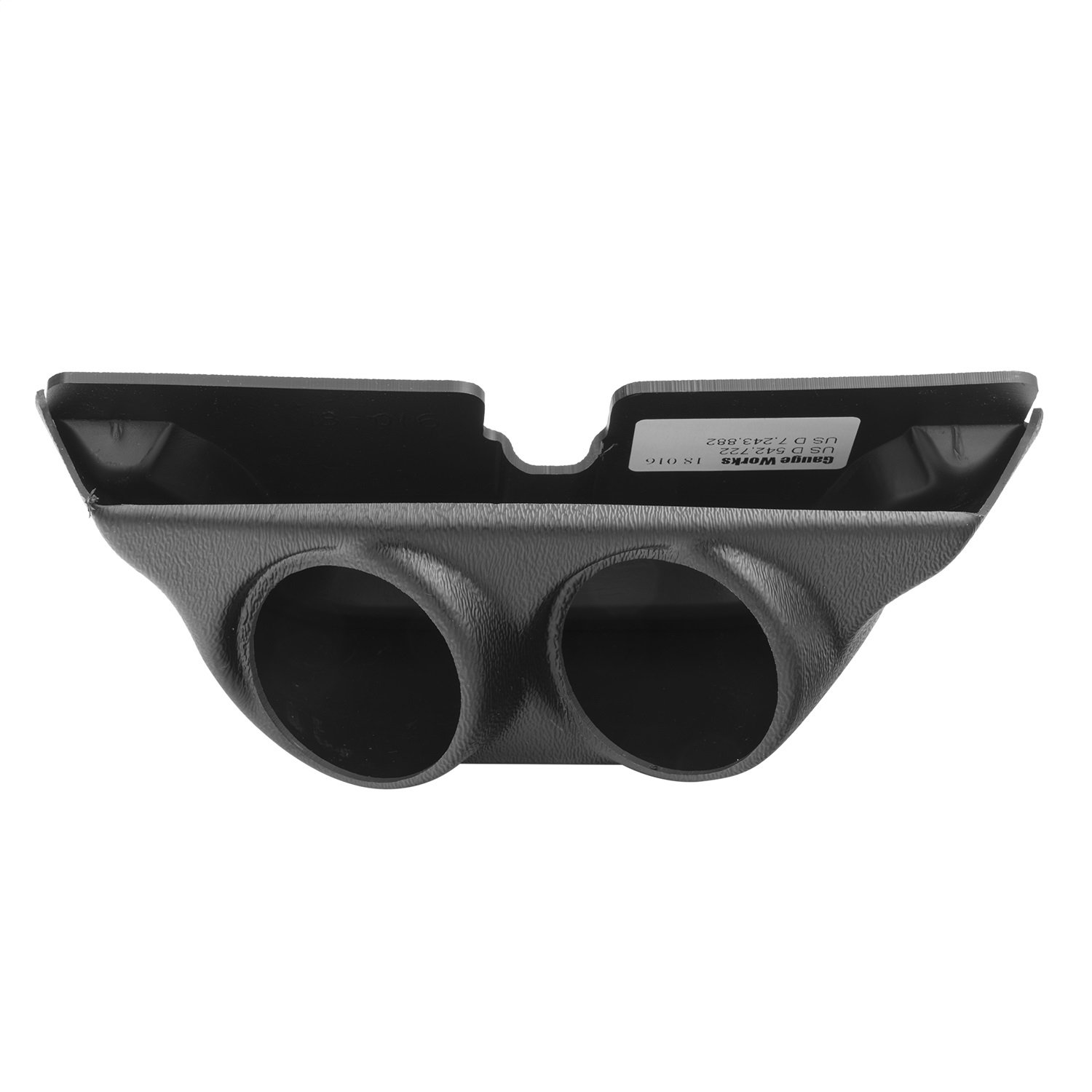 Auto Meter 18016 Black 2-1//16-Inch Dual Overhead Console Pod for 1999-2004 Ford Super Duty and 2003-2005 Dodge Ram