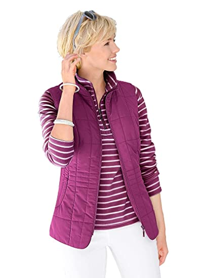 cheap for discount cf768 a22fa Collection L: Damen-Weste - brombeer - Gr.50 - 625829 ...