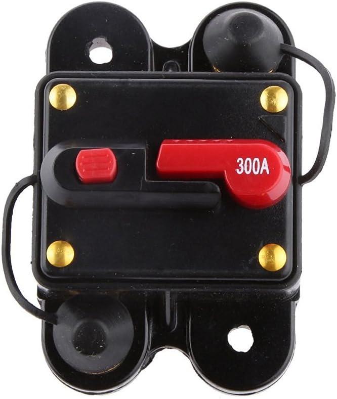 WINOMO 12V-24V Inline Auto disjoncteur /étanche 300 AMP manuel s/électeur