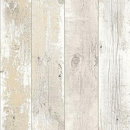 Driftwood Wallpaper Bleached Blonde 670501