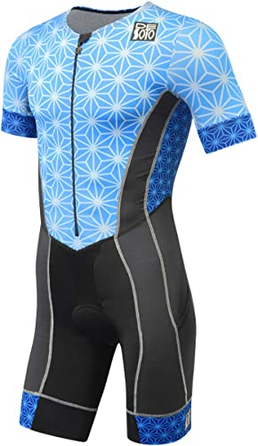 De Soto Forza Sleeved Triathlon Flisuit