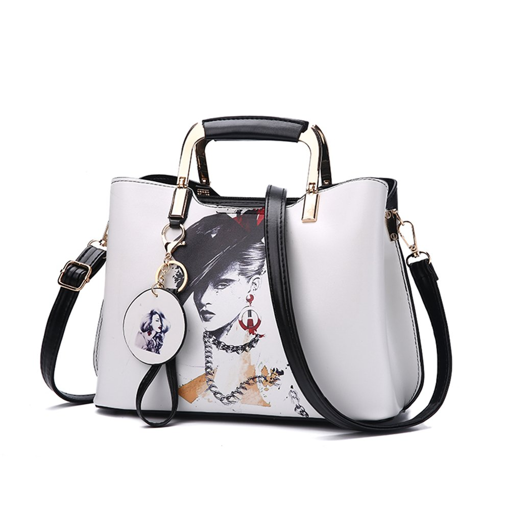 Purses and Handbags Top Handle Satchel Shoulder Bags for Women Ladies PU Leather Totes From Nevenka (6)