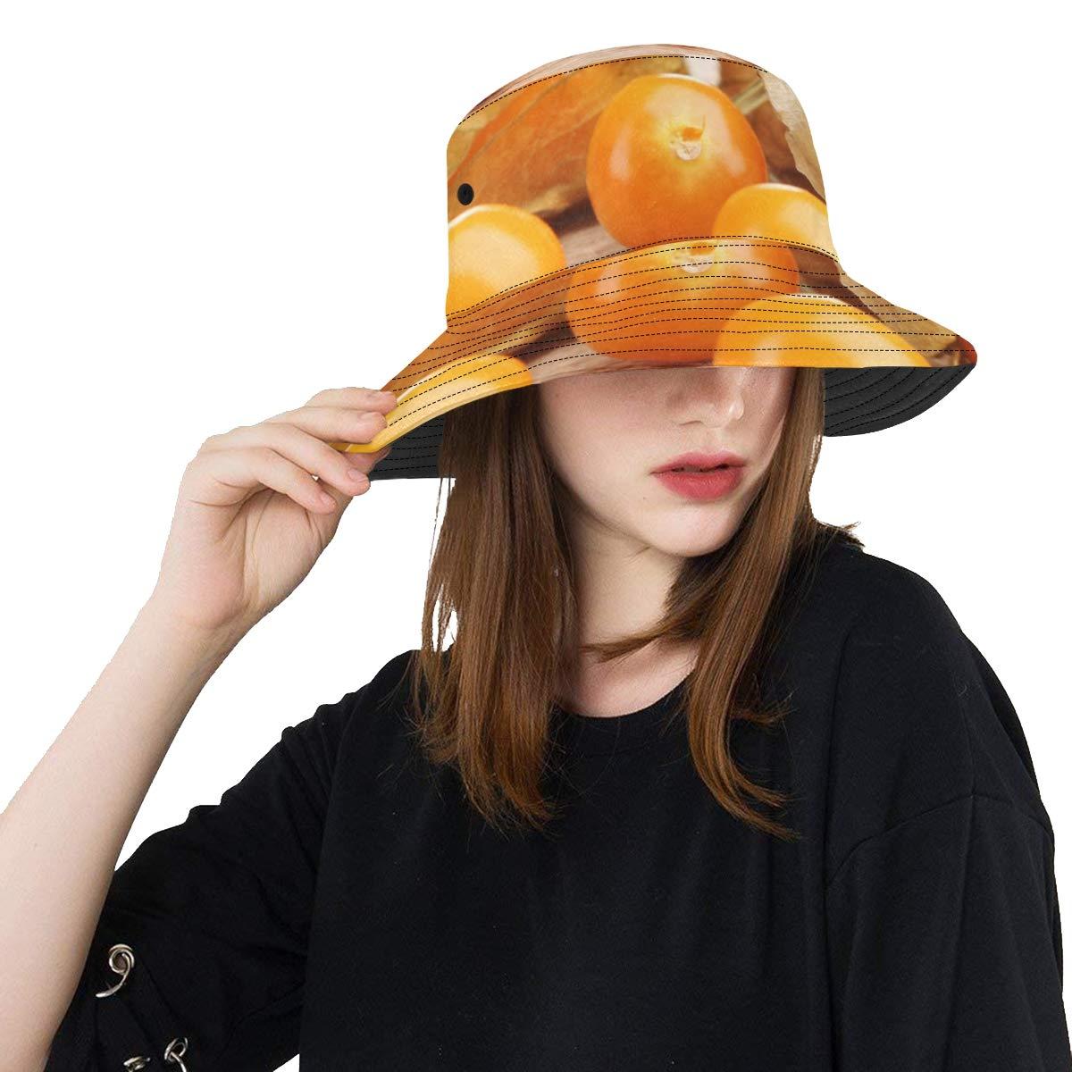 Golden Berries Popular Summer Unisex Fishing Sun Top Bucket Hats for Kid Teens Women and Men with Packable Fisherman Cap for Outdoor Baseball Sport Picnic