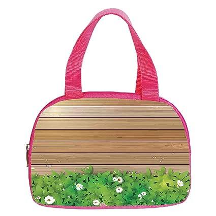 Amazon.com  iPrint Strong Durability Small Handbag Pink 1f8d8d480f7