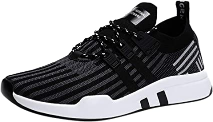 LUNDNEY Hommes Mode Chaussures De Sports Course Fitness Gym