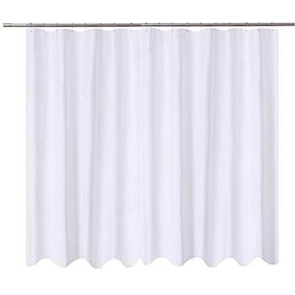 Amazon NY HOME Extra Wide Shower Curtain Liner Fabric