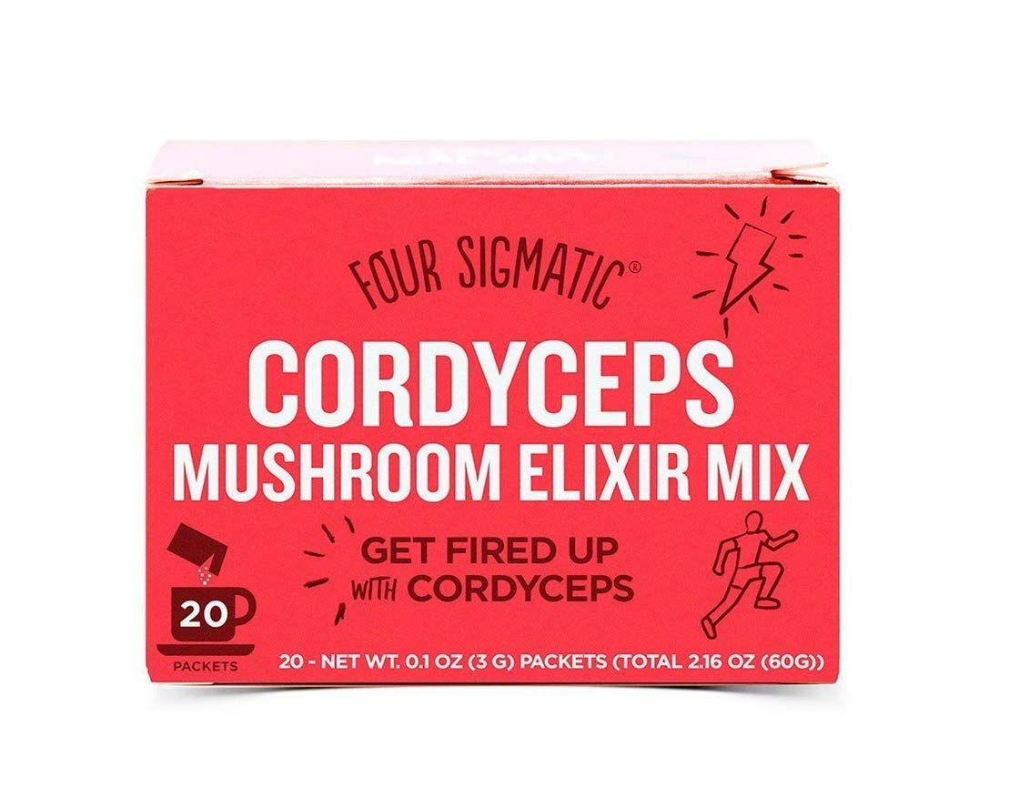 Four Sigmatic Cordyceps Mushroom Elixier Mix