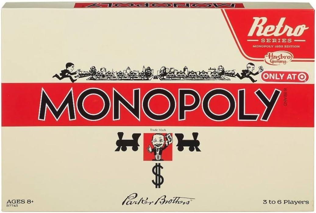 Retro New Monopoly Monopoly Game Edition (Original Version)