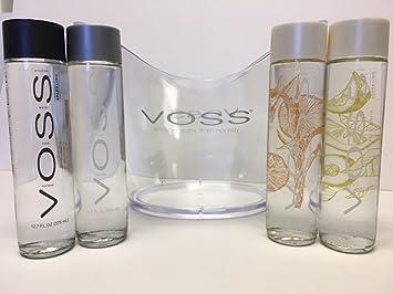 30d3dae238 Voss Artesian Water Variety Gift Set One 375 ML Glass Bottle Each Of Still,  Sparkling