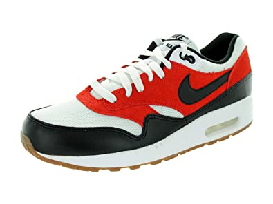 458bb3762c Amazon.com | Nike Men's Air Max 1 Essential Red/Black/White 537383 ...