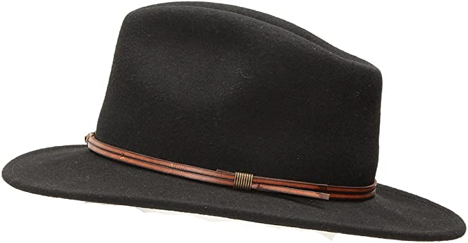 Silver Canyon Boot and Clothing Company Outback Lana Cappello da Cowboy Occidentale Feltro Dakota modellabile per Uomo
