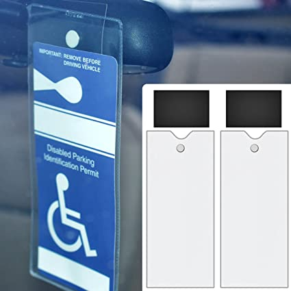 StoreSMART - Magnetic Holders for Parking Placards - 2-PACK - MMP2  sc 1 st  Amazon.com & Amazon.com: StoreSMART - Magnetic Holders for Parking Placards - 2 ...