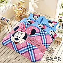 Disney Minnie Mouse Bedding Sets Twin Queen King Size Comforter Duvet Cover Set