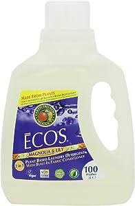 100 Oz Ecos Magnolia and Lilies Ultra Laundry Liquid