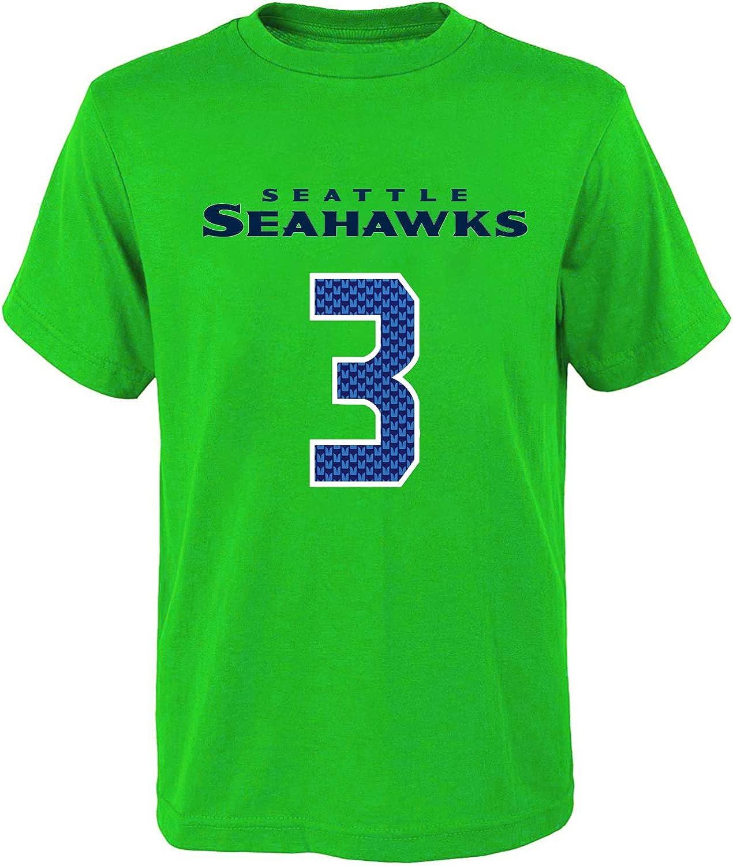 Outerstuff NFL Infants Toddler Team Color Alternate Mainliner Name and Number Player T-Shirt