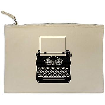 Azeeda Máquina de Escribir Bolso de Embrague / Accesorios Case (CL00000998)