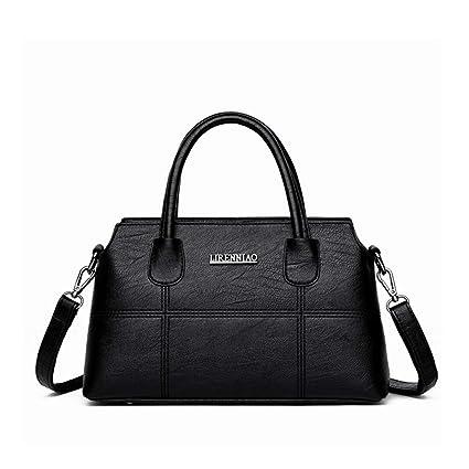 8335aad79254 Huasen Evening Bag Women's Handbag Middle-Aged Soft Leather Mother ...
