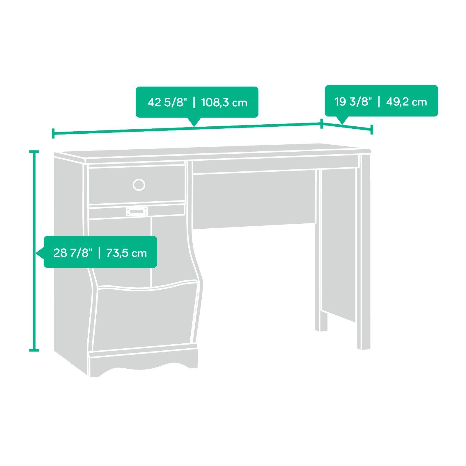 Sauder Pogo Desk for Children, Soft White Finish by Sauder (Image #4)