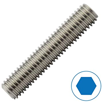 nach DIN 913 mit Innensechskant Gr/ö/ße: M4 x 5 mm D2D Madenschrauben und Kegelkuppe aus Edelstahl A2 // V2A VPE: 10 St/ück Gewindestifte ISK