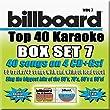 Billboard Top 40 Karaoke Box Set 7 [4 CD][40+40-Song Party Pack]