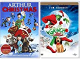 Arthur Christmas Operation Santa Double Feature How the Grinch Stole Christmas Dr. Seuss Holiday 2-Pack