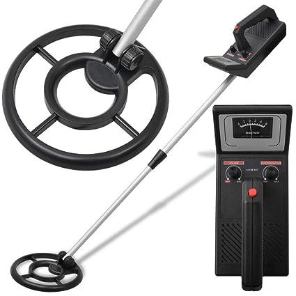 Festnight- Detector de Metales Negro 160 cm
