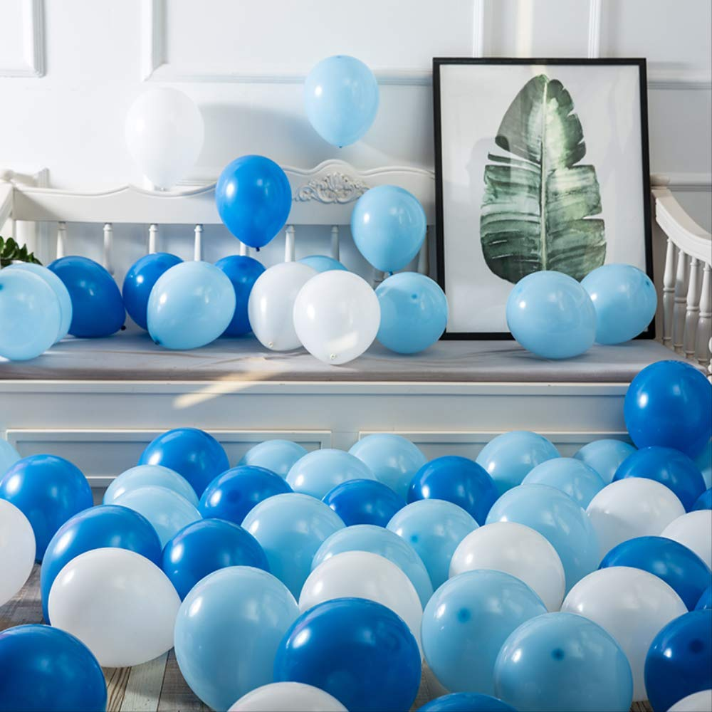 Bachelor Party RGAQSQ 10 -/Zoll -/Latex -/Ballon 100pcs Valentinstag -/Geburtstags -/Party -/Dekoration f/ür Babyparty Hochzeit Abschluss -/Party -///wei/ß
