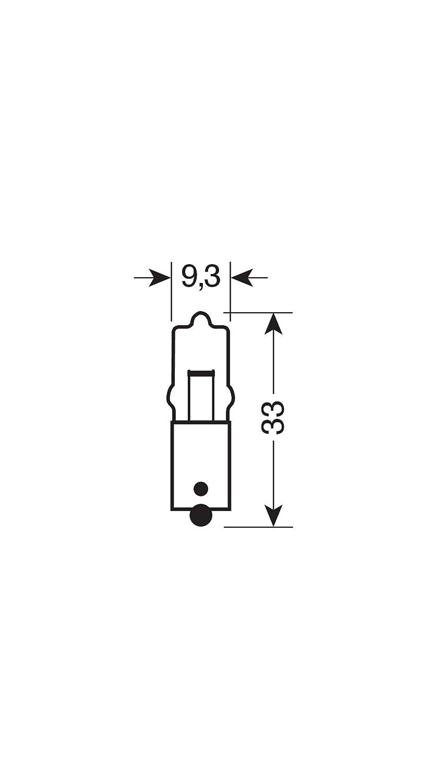 Osram 64115 MINIWATT Sockel BA9s 20W Innenbeleuchtung 1 Lampe