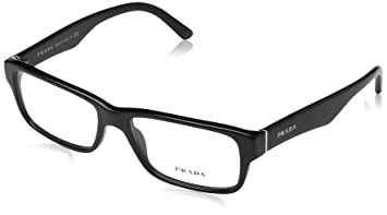 69d8e4a037c PRADA EYEGLASSES OPTICAL RX VPR 16M 1AB-101 BLACK VPR16M 53 16 140