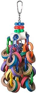 Super Bird Creations SB1107 Bagel Cascade Bird Toy, Large