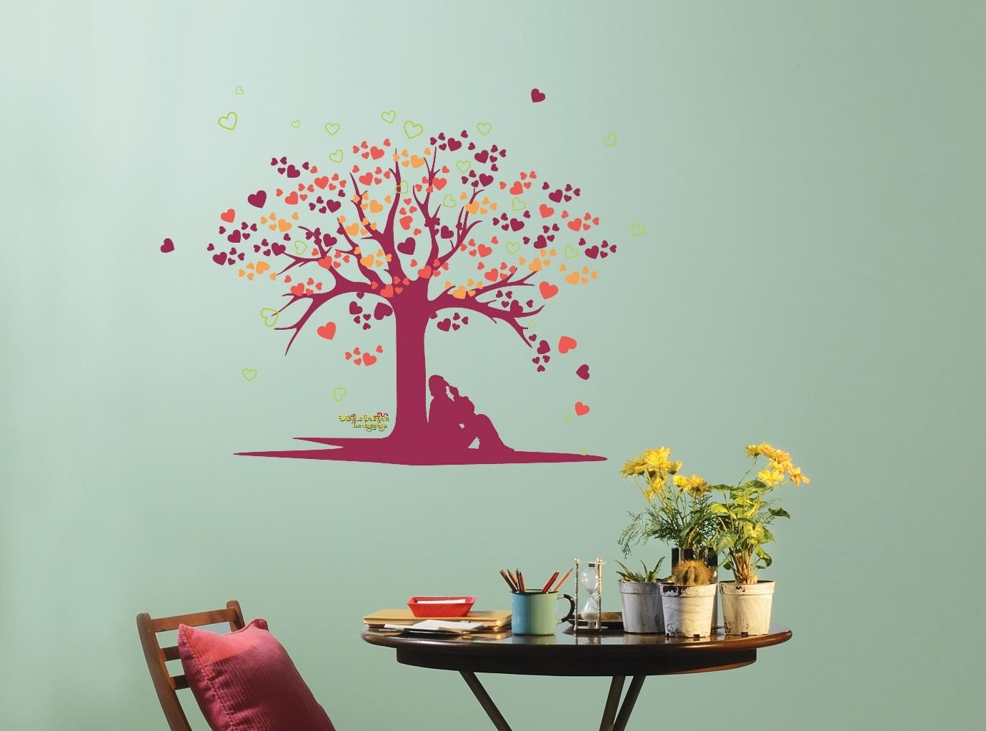 Buy Asian Paints Nilaya Tree Of Love Wall Stickers Online At Low Prices In  India   Amazon.in Part 76