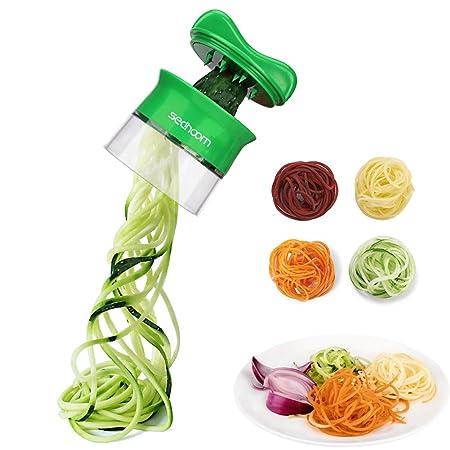 Sedhoom Hand Held Spiral Vegetable Slicer For Vegetable