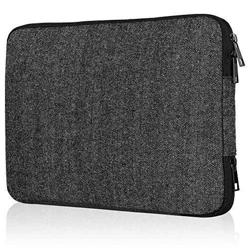 Devmlicor Laptop Sleeve 13-Inch Multifunctional Notebook Bag Waterproof Case Cover for Macbook Air 13 Inch/Macbook Air Pro Retina 13 Inch/Tablet iPad Tab - Woolen by Devmlicor