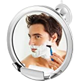 Jerrybox Specchio da Doccia, Specchio da Bagno per Rasatura, Rotazione di 360°, Regolabile