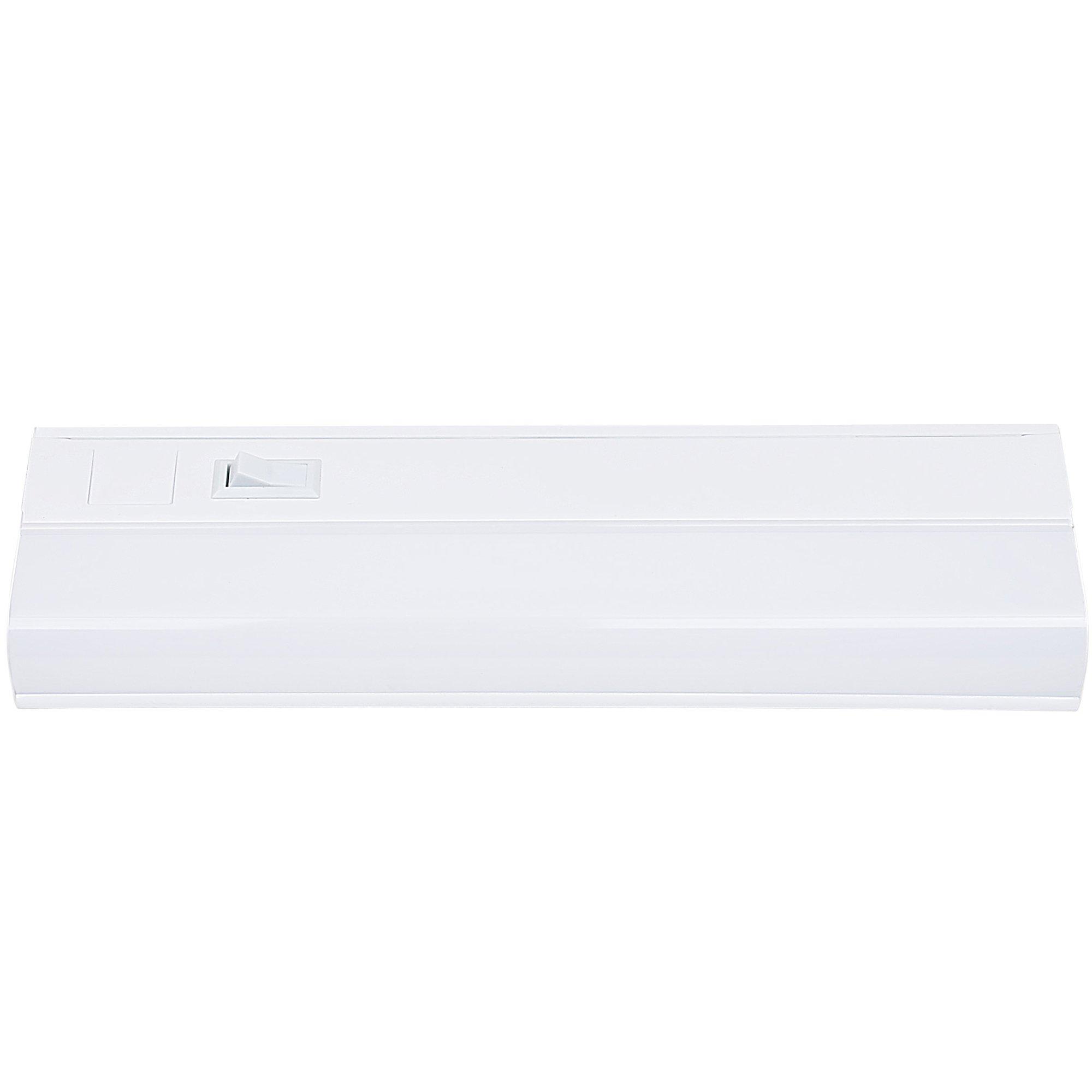 Hardwired LED Under Cabinet Lighting - 8 Watt, 12'', Dimmable, CRI>90, 3000K (Warm White), Wide Body, Long Lasting Metal Base With Frost Lens by HARRRRD