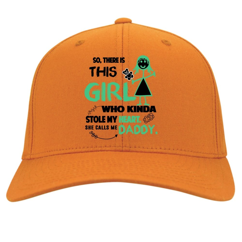 She Calls Me Daddy Hat This Girl Stole My Heart Knit Cap