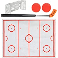 Innersetting Kids Adult Toilet Hockey Game Anti-Stress Ice Hockey Developmental Toy Gift