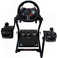 GT Omega Racing Wheel Stand for Logitech G920 G29 G923 Driving Force Gaming Steering Wheel, Pedals & Gear Shifter Mount…