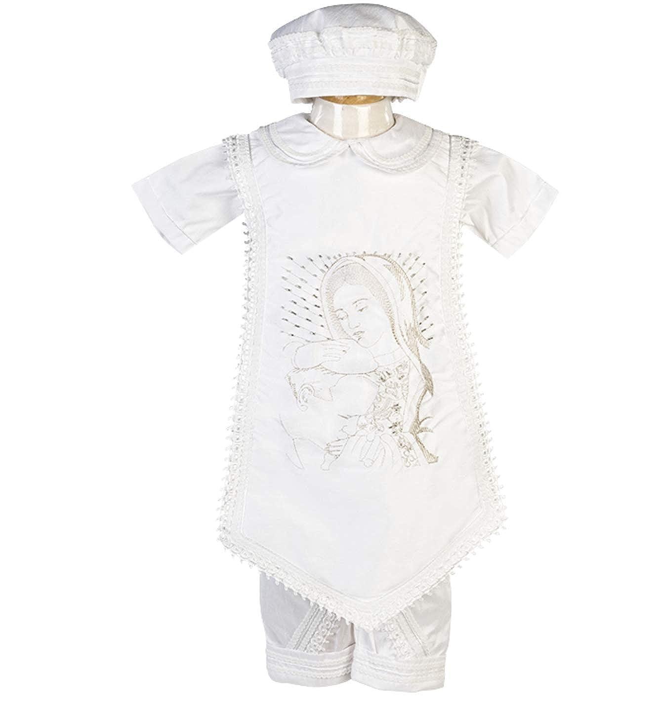 Traje De Bautizo para Nino P15//MX-542 Boys Baptism//Christening Gown