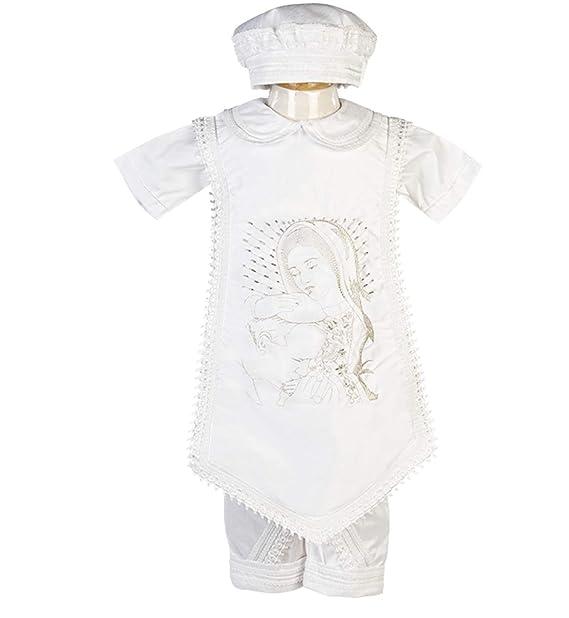 Amazon.com: Boys Baptism/Christening Gown, Traje De Bautizo ...