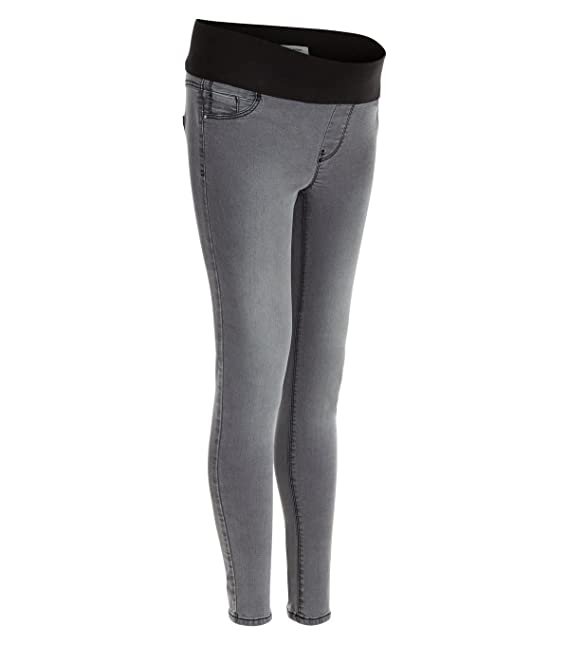 f2fe81647e2b6 Ladies Ex New Look Maternity Grey Under Bump Skinny Jeans (20):  Amazon.co.uk: Clothing