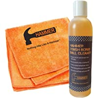 Hammer Tough Scrub Ball Cleaner- 8 oz bottle with Towel