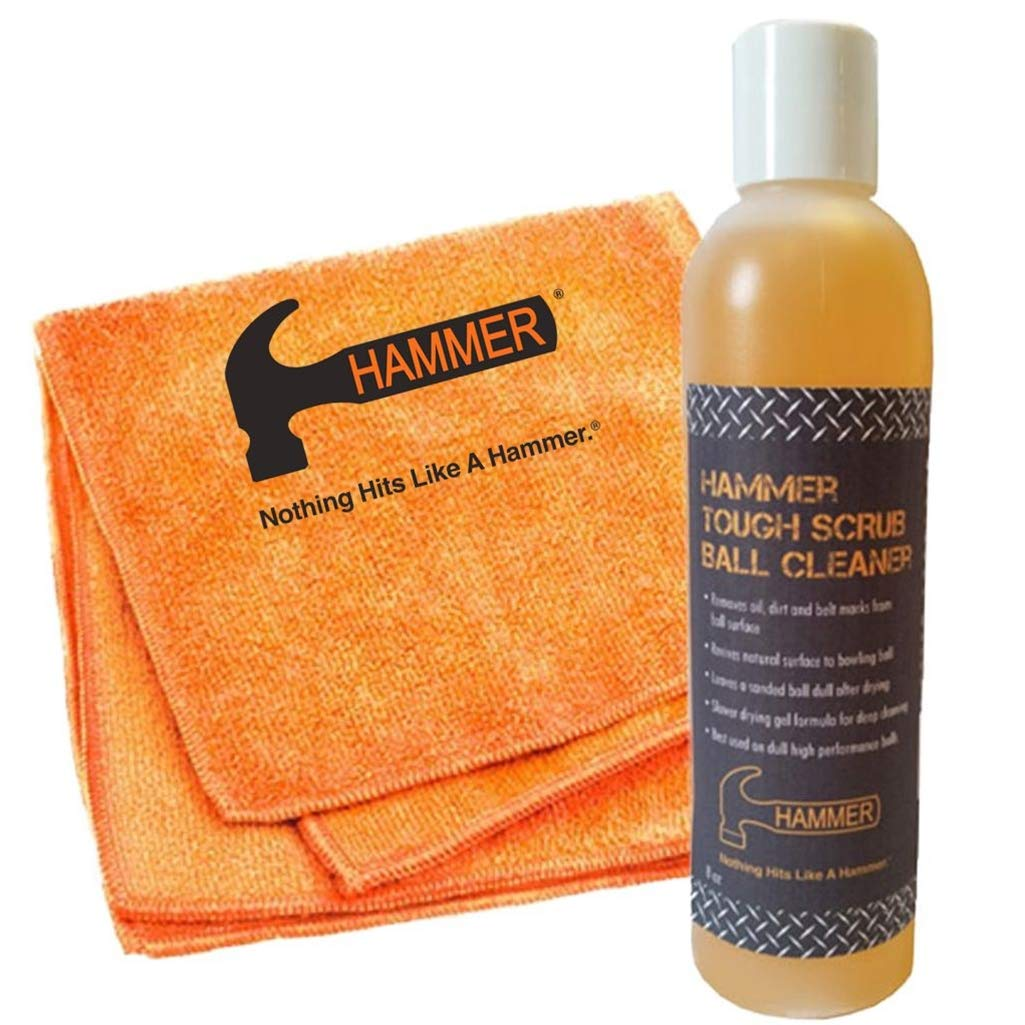 Hammer Tough Scrub Ball Cleaner- 8 oz Bottle with Towel by Hammer