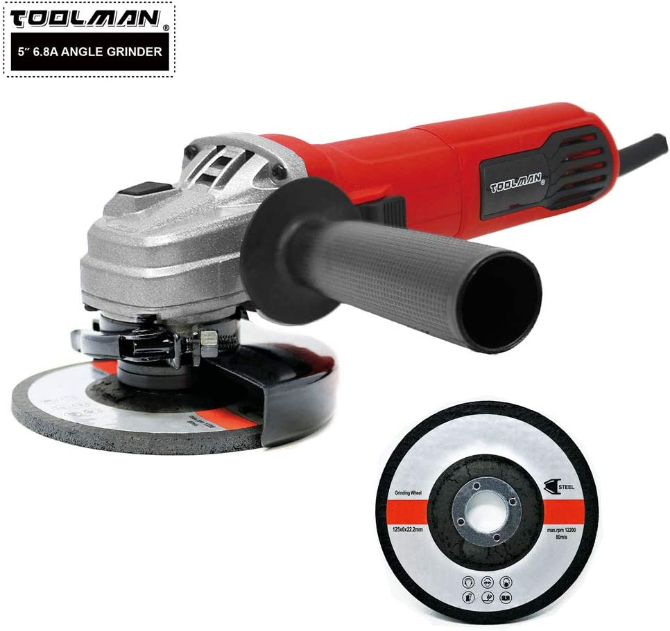 """4.8 Amps 11500 RPM for Cutting Grinding heavy duty Electric Angle Grinder 4-1//2/"""""""