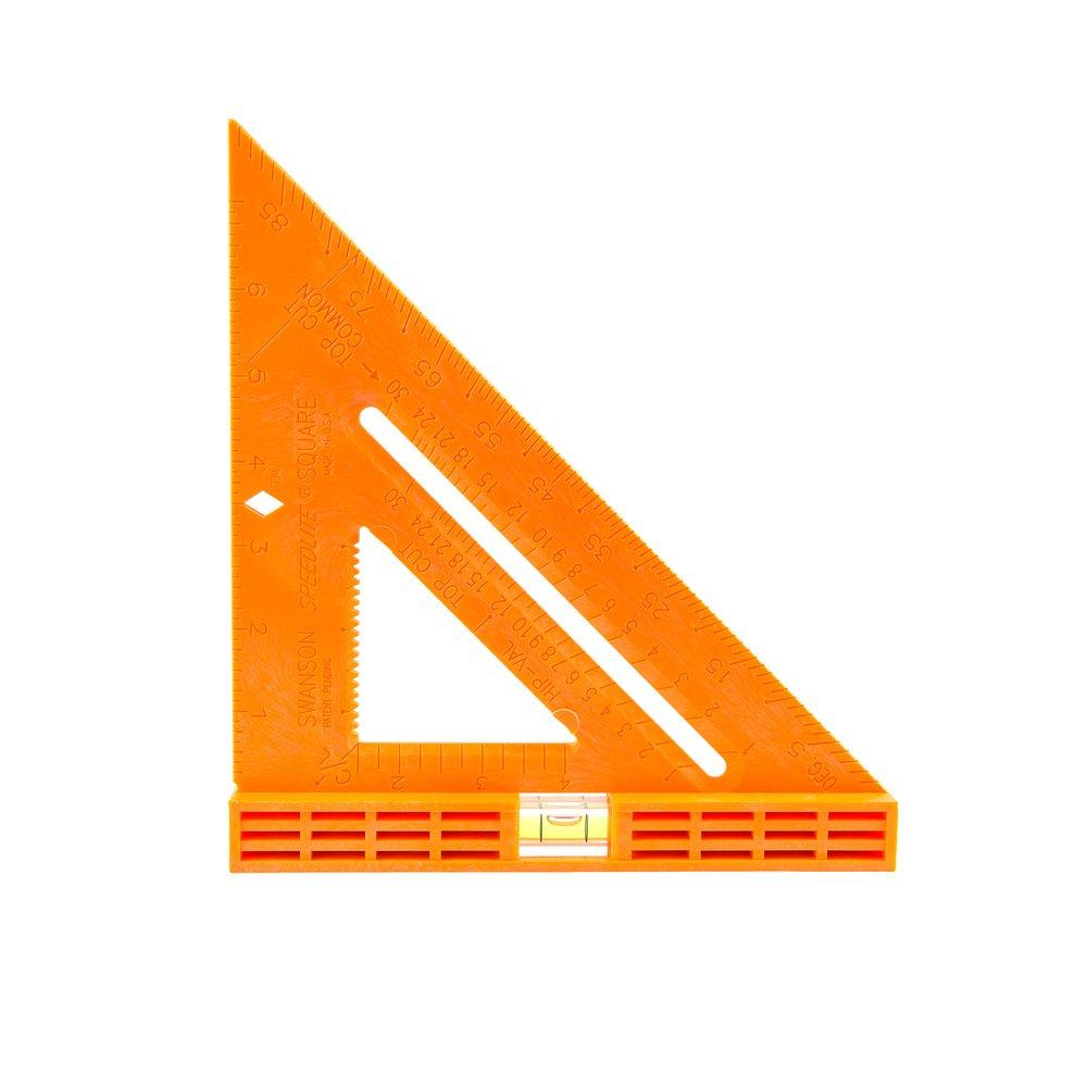 Swanson T0811 Speedlite Level Square Layout Tool (Orange)