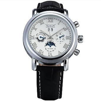 Amazon.com: JARAGAR lujo hombres automático mecánico reloj ...